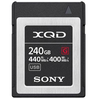 Image of Sony 240GB G Series XQD Memory Card