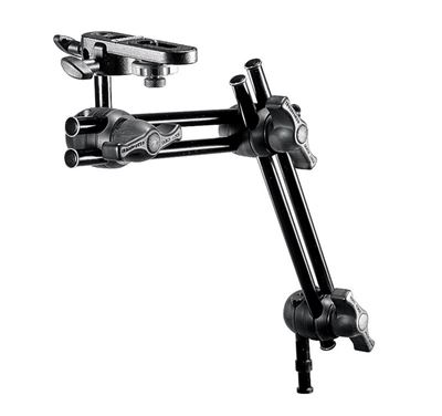 Compare Prices Of  Manfrotto Double Articulated Arm - 2 Sections With Camera Bracket (396B-2)