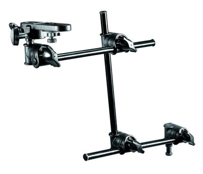 Image of Manfrotto Double Articulated Arm - 3 Sections With Camera Bracket