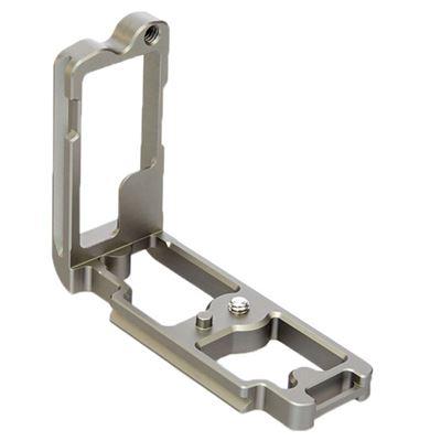 Image of 3 Legged Thing - Zelda L-Bracket for Nikon Z 6 and Z 7 Cameras (Metallic Slate Gray)