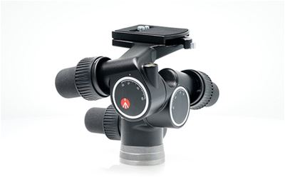 Image of Manfrotto #405 PRO Geared Head w/RC4 Quick Release Plate