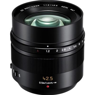 Image of Panasonic Leica DG Nocticron 42.5mm F1.2 ASPH. Power OIS (Micro Fourth Thirds Mount)