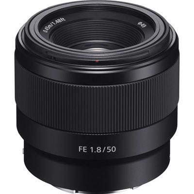 Image of Sony FE 50mm F1.8 Lens (Black) (SEL50F18F/2) + Bonus
