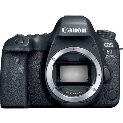 Image of Canon EOS 6D Mark II DSLR Camera (Body) + Bonus Accessory