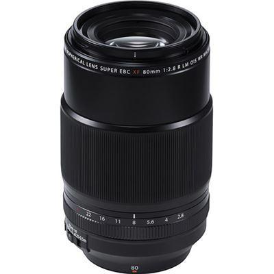 Image of Fujifilm Fujinon XF 80mm F2.8 R LM WR OIS Macro Lens + Bonus Item