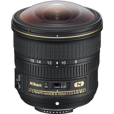 Image of Nikon AF-S Fisheye Nikkor 8-15mm F3.5-4.5E ED Lens