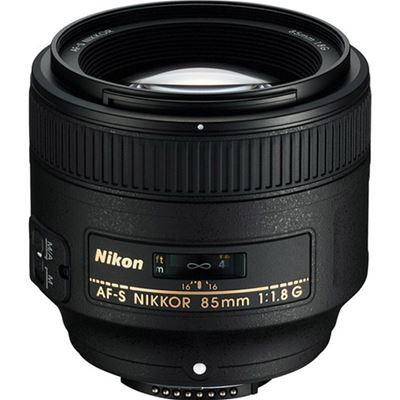 Image of Nikkor AF-S 85mm F1.8G with Bonus