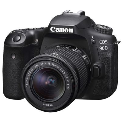 Image of Canon EOS 90D DSLR Camera w/ 18-55mm Lens BUNDLE TAMRON LENS 10-24mm