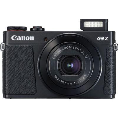 Image of Canon PowerShot G9X Mark II Digital Camera (Black)