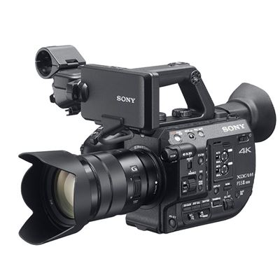 Image of Sony PXW-FS5M2K 4K XDCAM Super 35mm Compact Camcorder w/ PZ 18-105mm G OSS Lens