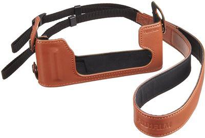 Image of Fujifilm BLC-XE1 Brown Leather Half Case (for Fuji X-E1/XE2)