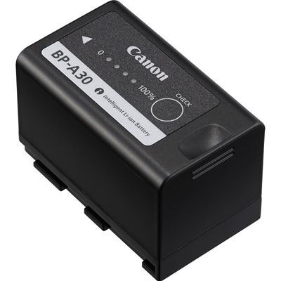 Image of Canon BP-A30 Battery (w/ Level Meter) 3200mAh 14.4V for C200, C300 MkII & III, C500 II