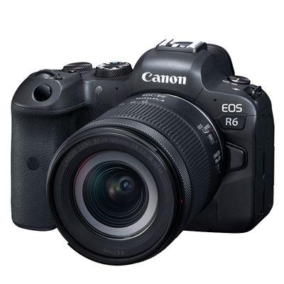 Image of Canon EOS R6 Mirrorless Digital Camera w/ RF 24-105mm STM Lens