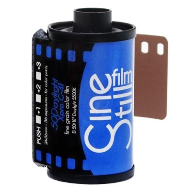Image of CineStill Film 50Daylight Fine Grain Color Print Film - 135-36exp