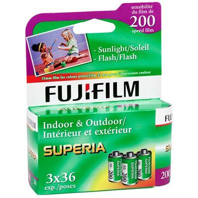 Image of Fujifilm Superia 200 Color Negative Print Film 36exp, 3-Pack