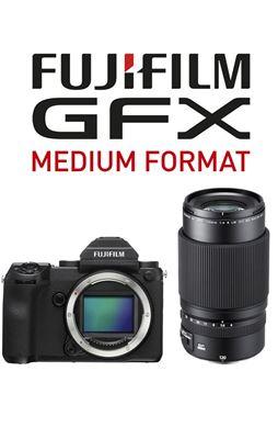 Compare Prices Of  Fujifilm GFX 50S Body w/ GF120mm Lens Bundle