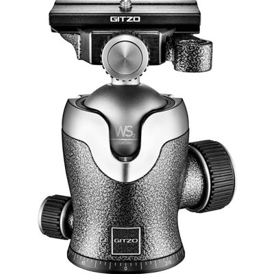 Image of Gitzo GH3382QD SERIES 3 CENTRE BALL HEAD w/ ARCA-STYLE QR PLATE
