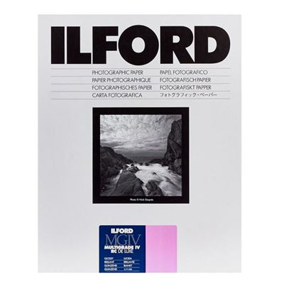 Image of Ilford MG4RC1M Multigrade IV RC Deluxe Glossy - 10 Sheets (11x14)