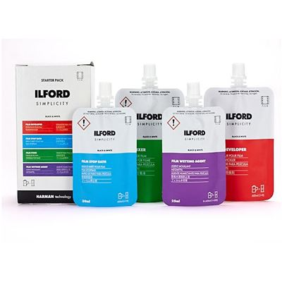 Image of Ilford Simplicity Black and White Film Developing Kit