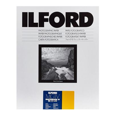 Image of Ilford MG4RC25M Multigrade IV RC Deluxe Satin - 25 Sheets (8x10)