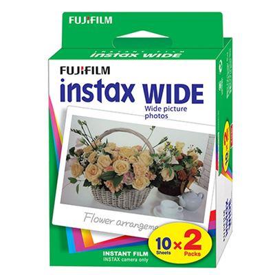 Image of Fujifilm Instax Wide Film (2 Packs of 10)