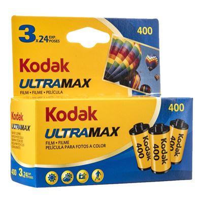 Image of Kodak ULTRA MAX 400 Color Negative Print Film (24exp, 3-Pack)