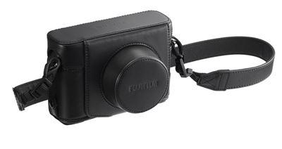Compare Prices Of  Fujifilm Leather Case LC-X100F (Black)