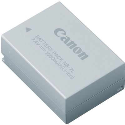 Image of Canon NB-7L Lithium Ion Battery (G12, G11, G10, SX30IS)