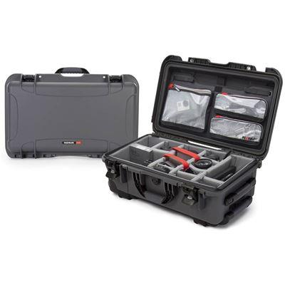 Image of Nanuk 935 Pro Photo Kit - Rolling Case (Graphite)