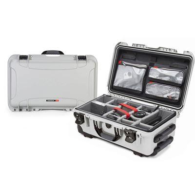 Image of Nanuk 935 Pro Photo Kit - Rolling Case (Silver)