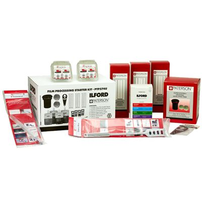 Image of Paterson / Ilford Film Processing Kit