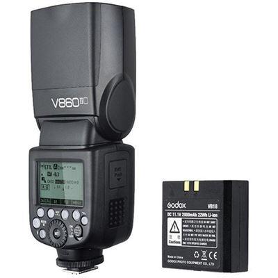 Image of Godox V860IIF TTL Li-Ion Flash Kit (for Fujifilm)