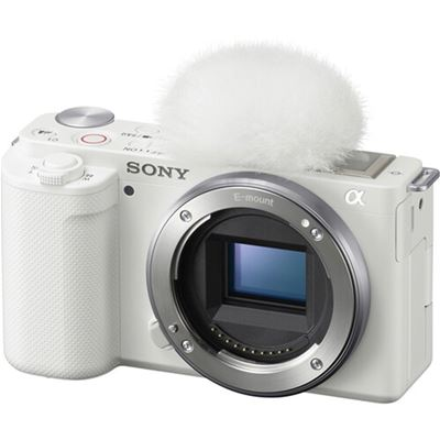 Image of Sony ZV-E10 Mirrorless Camera (Body Only, White)