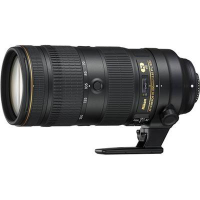 Image of Nikkor AF-S 70-200mm F2.8E FL ED VR Lens + BONUS