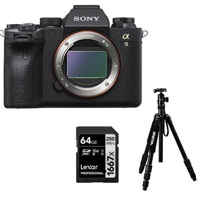 Image of Sony Alpha a9 II Mirrorless Camera (Body) w/ BONUS ITEMS!!