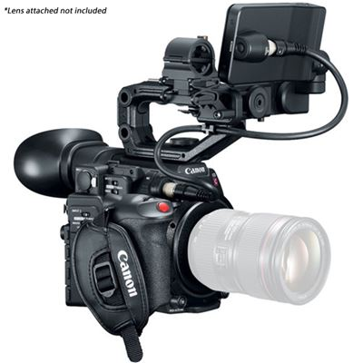 Image of Canon EOS C200 EF Cinema Camera w/ Grip, LCD, and Handle