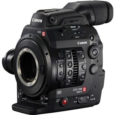 Image of Canon C300 Mark II Cinema EOS Camcorder Body (EF Lens Mount)