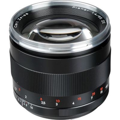Image of Zeiss 85mm F1.4 Planar T* ZE (Canon mount)