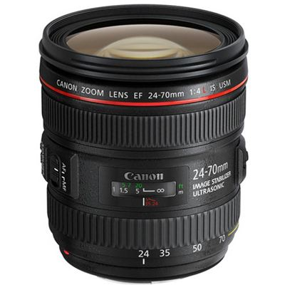 Image of Canon EF 24-70mm f4 IS USM + BONUS