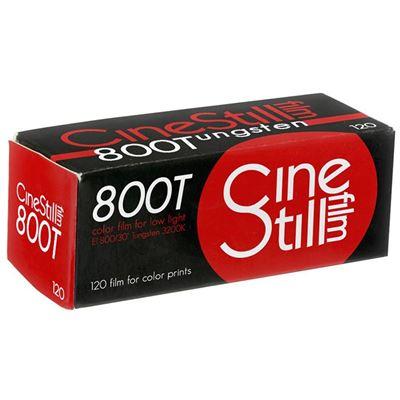 Image of CineStill Film 800Tungsten High Speed Color Print Film - 120 Roll