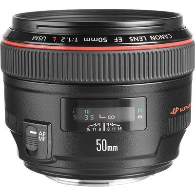 Image of Canon EF 50mm F1.2L USM + BONUS