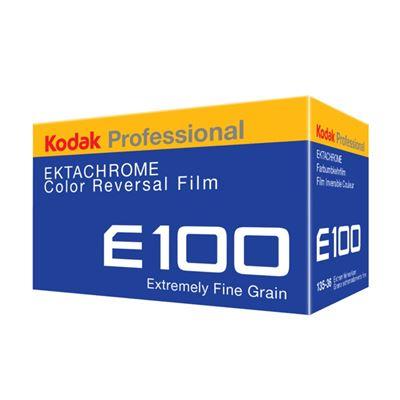 Image of Kodak Professional Ektachrome E100 Color Transparency Film (35mm Roll Film, 36 Exposures)