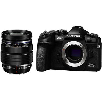 Compare Prices Of  Olympus OM-D E-M1 Mark III Mirrorless Digital Camera w/ M.Zuiko 12-40mm F2.8 Pro Lens