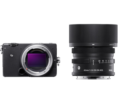 Compare Prices Of  Sigma fp Mirrorless Camera w/ 45mm F2.8 Lens