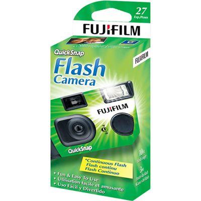Image of Fujifilm Flash Disposable Film Camera (27 Exposures)