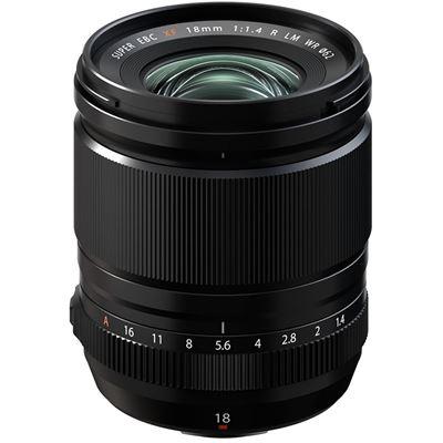 Image of FUJIFILM XF 18mm F1.4 R LM WR Lens