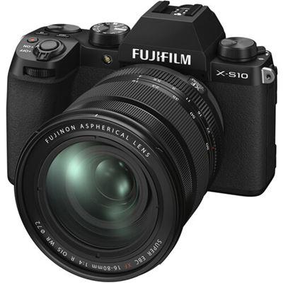 Image of FUJIFILM X-S10 Mirrorless Digital Camera w/ 16-80mm Lens + BONUS