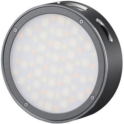 Image of Godox Round Mini RGB LED Magnetic Light (Gray)