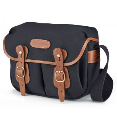 Image of Billingham Hadley Small (Black with Tan Leather Trim)