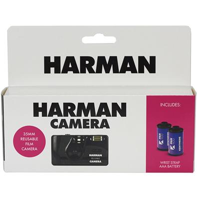 Image of ILFORD HARMAN Reusable Camera w/ Kentmere Film